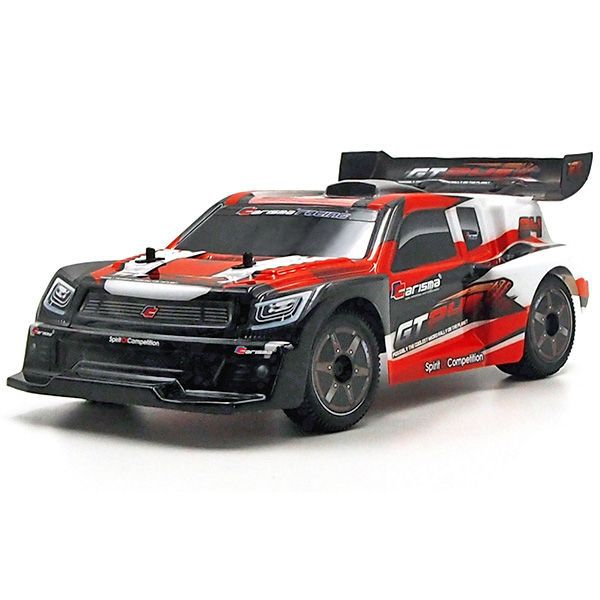 Micro voiture rc rally gt24r 1 24 me 4wd brushless rouge for Moquette route voiture