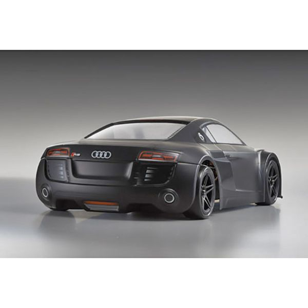 kyosho fazer ve audi r8 noir mat readyset 30916 voiture. Black Bedroom Furniture Sets. Home Design Ideas