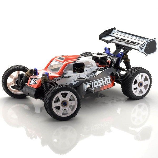 33003T3B KYOSHO INFERNO 2.0 ROUGE