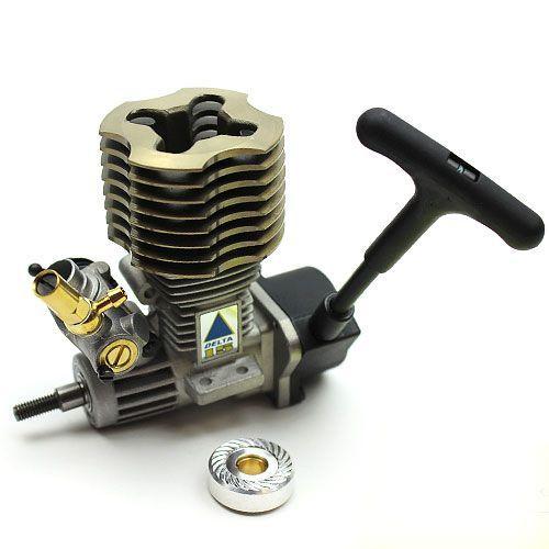 moteur delta 2 5cc pour voiture thermique nitro rc 1 10 piste et tout terrain. Black Bedroom Furniture Sets. Home Design Ideas