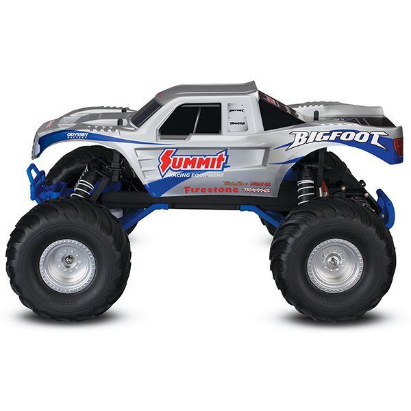 BIGFOOT 1/10 2WD GRIS TRAXXAS