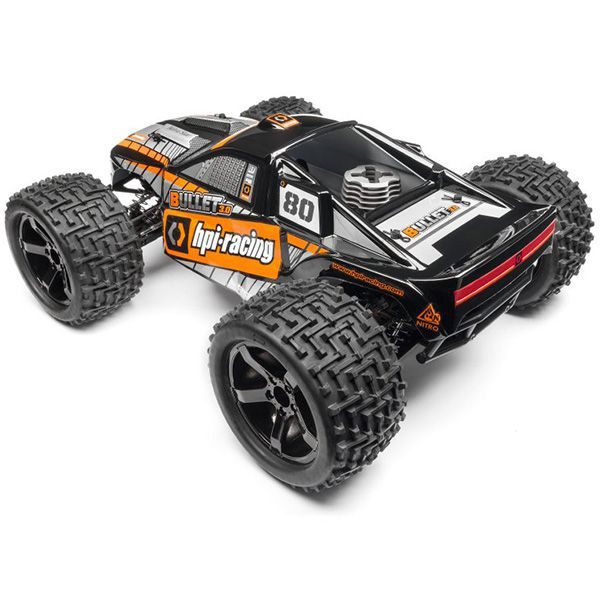 bullet st 3 0 nitro rtr hpi 110660 truck rc tout terrain. Black Bedroom Furniture Sets. Home Design Ideas