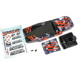 CARROSSERIE SAND BUGGY 1/10�me CAMOUFLAGE ORANGE