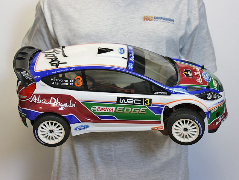 ford fiesta wr8 ken block rally 112868 voiture thermique 1 8 telecommandee rc. Black Bedroom Furniture Sets. Home Design Ideas
