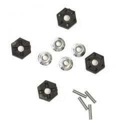 Ecrous de roue et hexagones MT12 Funtek