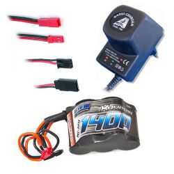ACCU RX 6V 1400MAH UNIVERSEL + CHARGEUR