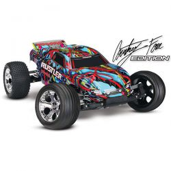 RUSTLER XL-5 TRAXXAS COURTNEY FORCE EDITION