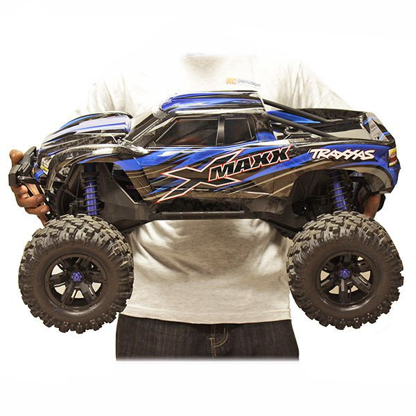 X-MAXX TRAXXAS 4WD BRUSHLESS ROUGE