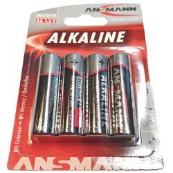 4 piles alkaline lr6 1.5v