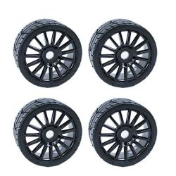 4 ROUES RALLYGAME HOBBYTECH POUR BUGGY 1/8