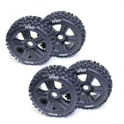 4 ROUES TYPE BULLDOG GROS CRAMPONS POUR BUGGY 1/8ÈME