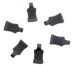 6 attaches clips de carrosserie noirs absima 2440057