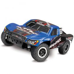 68086 Traxxas slash 4x4 brushless vxl tsm bleu (sans accus)