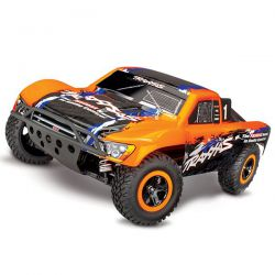 68086 Traxxas slash 4x4 brushless vxl tsm orange (sans accus/chargeur)