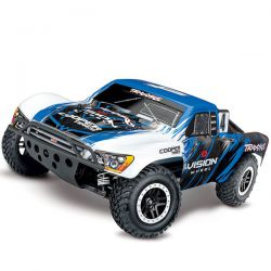 68086 Traxxas slash 4x4 brushless vxl tsm vision (sans accus)