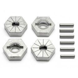 Hexagones de roue en 17mm voiture rc