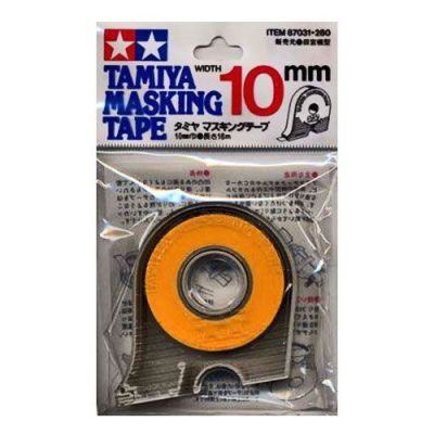bande cache pour peinture 10mm masking tape tamiya 87031 pour peindre. Black Bedroom Furniture Sets. Home Design Ideas