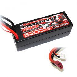 Absima batterie Li-Po 7100mAh 3S 11,1v 60c Dean