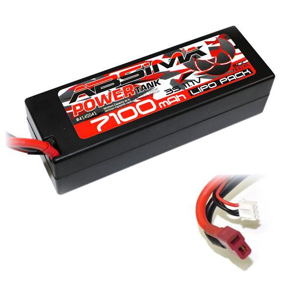 Absima batterie Li-Po 7100mAh 3S 11,1v 60c T-Plug Dean 4140043