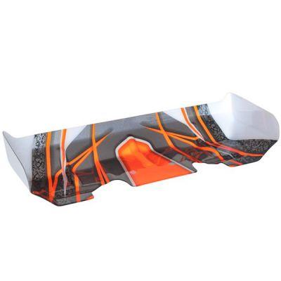 Aileron en lexan pour bx8sl runner orange hobbytech ca-274