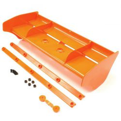 Aileron en nylon orange 1/8 kyosho inferno mp9
