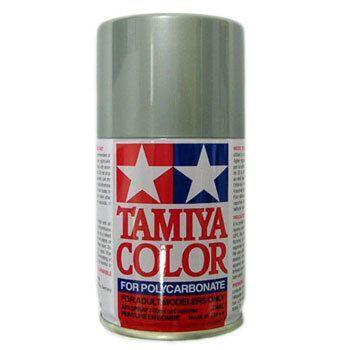 argent ps12 tamiya peinture en bombe pour carroserie de. Black Bedroom Furniture Sets. Home Design Ideas