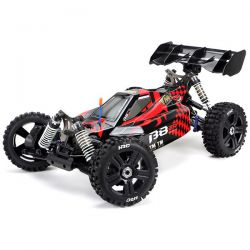 B8ER ROUGE ET NOIR BUGGY 1/8ÈME BRUSHLESS 4WD TEAM MAGIC