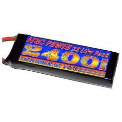 BATTERIE HRC Li-Po 2400MAH 7.4V TRAXXAS 1/16