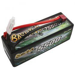 Batterie li-po gens ace 5500mah 2s 7.4v 50c dean GE3-5500-4D