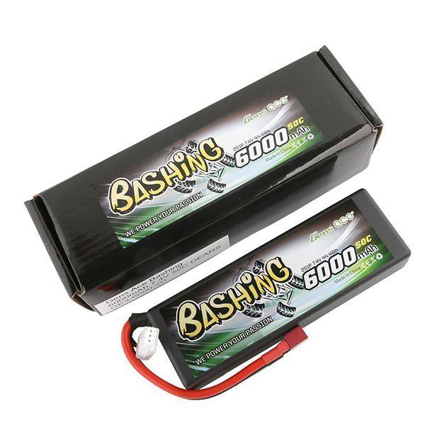 Batterie li-po gens ace 6000mah 2s 7.4v 50c dean