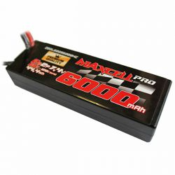 Batterie li-po maxcell pro 6000mah 2s 7.4v 60c dean