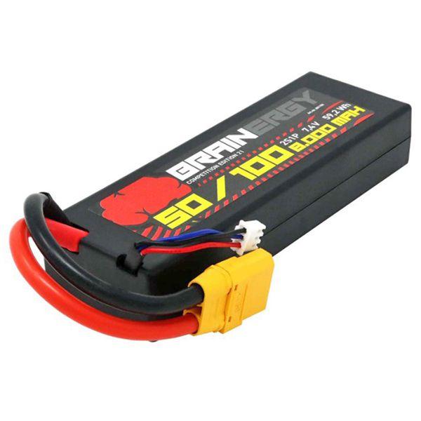 Batterie Li-Po XT-90 8000mAh 2S 7.4V 50c XT-90