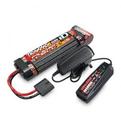 Batterie longue traxxas 8.4v + chargeur rapide traxxas 2983g