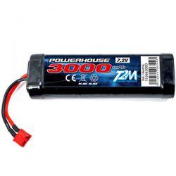 Batterie t2m ni-mh 7,2v 3000mah prise dean T1006300D