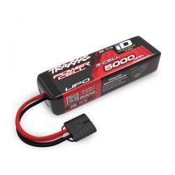 Batterie traxxas li-po 5000mah 11,1v 3s courte 2832X