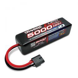 Batterie traxxas li-po 5000mah 14,8v 4s longue 2889x