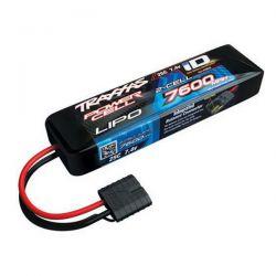 batterie Li-Po TRAXXAS 7.4v 7600mah prise ID