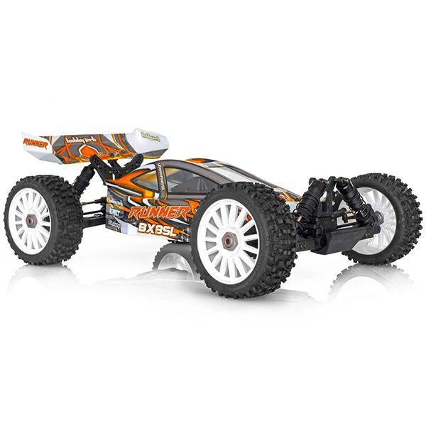 Bx8 sl runner orange buggy 1/8 rtr 4x4 hobbytech