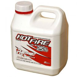 Carburant hot fire 25% 2 litres