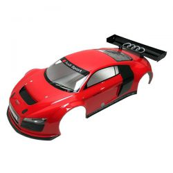 Carrosserie 1/8 audi r8 rouge inferno gt2 kyosho igb109