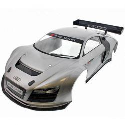 CARROSSERIE AUDI R8 GRISE INFERNO GT2 KYOSHO