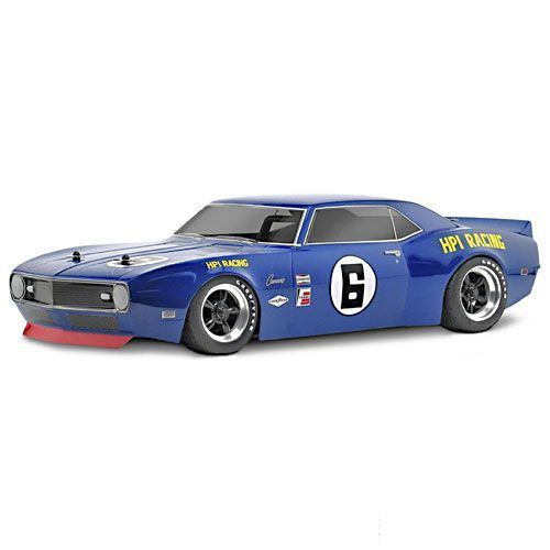 carrosserie chevrolet camaro 1968 hpi 200mm coque transparente voiture piste rc. Black Bedroom Furniture Sets. Home Design Ideas