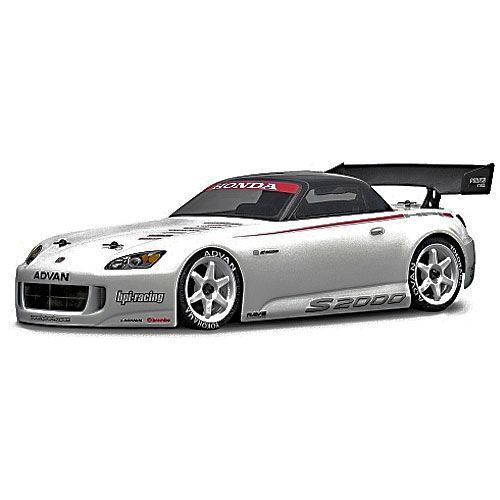 carrosserie honda s2000 1 10 hpi coque transparente lexan pour voiture 1 10 rc. Black Bedroom Furniture Sets. Home Design Ideas