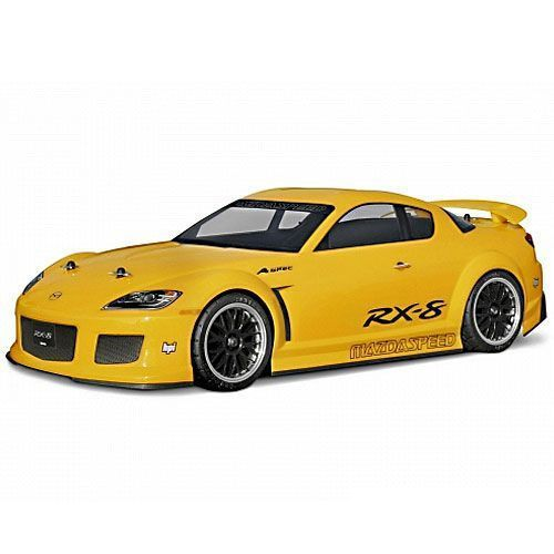 carrosserie mazda rx8 200mm hpi pour voitures rc 1 10 electrique ou thermique. Black Bedroom Furniture Sets. Home Design Ideas