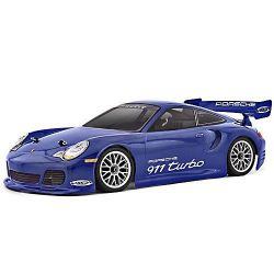 CARROSSERIE 1/10ÈME PORSCHE 911 TURBO HPI 200MM