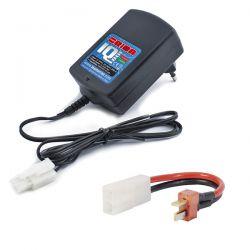 Chargeur automatique ni-mh orion iq801 avec adaptateur dean
