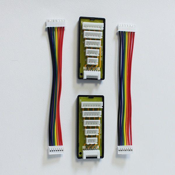 Chargeur double maxpro + 2 x batteries 3s 5000mah 45c