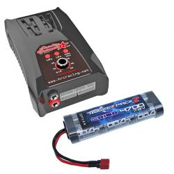 CHARGEUR POLYVALENT 5A + BATTERIE NI-MH 4700MAH 7,2V DEAN