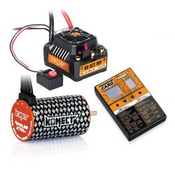Combo brushless 80A SCT WP moteur 4p 3500kv + carte de programmation