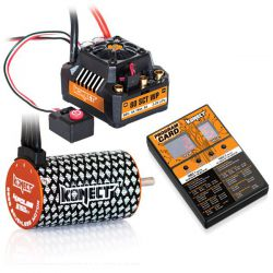 Combo brushless 80amp SCT WP moteur 4p 3150kv + carte de programmation